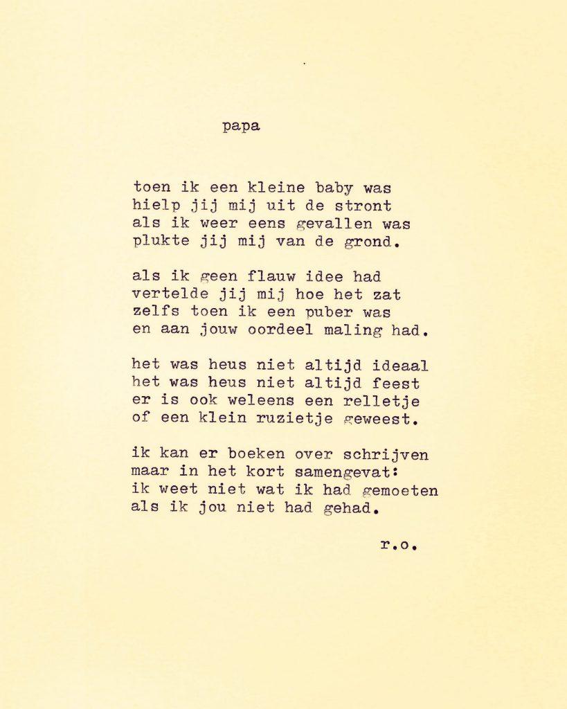 Gedichten voor papa